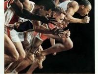 Japanese Poster: Tokyo Olympics. Yusaku Kamekura.... | Gurafiku: Japanese Graphic Design