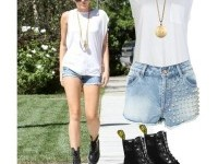 Miley Cyrus Inspired Punk Look - Polyvore