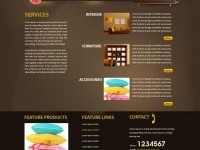 Interior HTML Template
