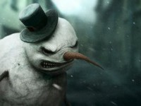 Snowman by ~Gloom82