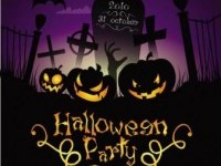 Halloween posters beautiful background 04 vector Vector background - Free vector for free download