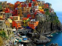 The famous Manarola, Italy | Houses