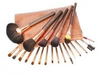 22PCS Professional Makeup Brush Snake Texture - makeupsuperdeal.com