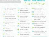 31 Day Blog Challenge – March Edition | Daily Digi - Journaling Ideas