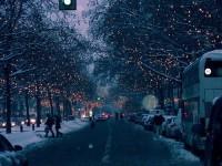 Winter street | winter
