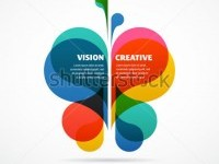 Abstract Background With Butterfly And Text Space Stock Vector 133288547 : Shutterstock