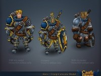 Castle Storm - Character Art Dump (Diffuse only, Hand Painted) - Polycount Forum