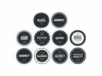 Badges Vector File - VECTOR ELEMENTS - Badges : LogoWik.com