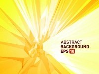 ABSTRACT / halo threedimensional abstract background 05 vector