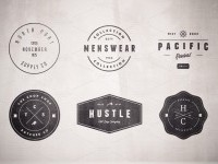 Logo Templates Product Images ~ Vintage Logo Set… ~ Creati...