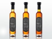 2013 Holiday Syrup Packaging — The Dieline