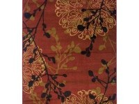 Legacy Dappled Red 7 ft. 8 in. x 10 ft. 10 in. Area Rug-314911 at The Home Depot