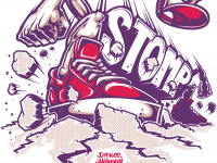 STOMPING STOMP – T-shirt print for Stomp (dance academy). | Inspiration DE