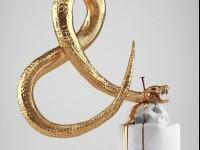 Hedi Xandt golden faces scupltures | I Lobo You | Boca do Lobo's inspirational world | Exclusive Design | Interiors | Lifestyle | Art | Architecture | Fashion