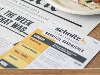 Schnitz menu design | Inspiration DE