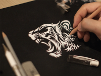 Tiger | Sketch | Drawing | Inspiration DE