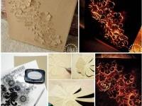 DIY Backlit Canvas Art