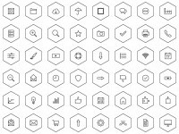Polygon Icons Set — DryIcons.com