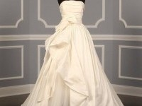 $$$ - $1501 to $3000 Ball Gown Floor Silk Sleeveless Strapless Taffeta Tulle Wedding Dresses Photos & Pictures - WeddingWire.com