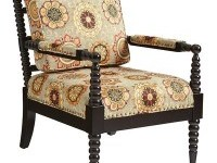 Bobbin Chair - Tribal Red