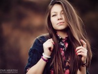 Young woman outdoors portrait - 54ka [photo blog]