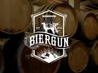 Biergun Brewery Logo on Inspirationde