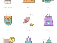 Free Download : Happycons – 40 happy and unique icons (AI, Sketch, PNG, SVG, EPS) | Designbeep