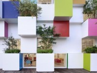 emmanuelle moureaux architecture + design — Sugamo Shinkin Bank / Nakaaoki branch — Image 6 of 9 - Divisare by Europaconcorsi