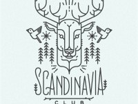 Scandinavia club illustration in Illustration