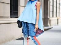 New York Spring 2015 Street Style - Street Style
