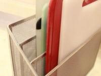 Organizing cutting boards with file organizer! #diy #organize #kitchen #homeorganization | KITCHEN IDEAS & TIPS | Pinterest