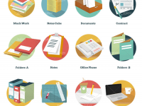 Freebie: Office And Business Icon Pack (92 Icons, AI, EPS, PSD, PDF, PNG, SVG) – Smashing Magazine