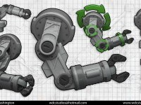 ArtStation - Robot Study (Arm)Robot Study (Arm), Marvin Washington
