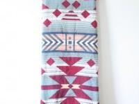 Vintage southwestern blanket // tribal print // door BeigeVintageCo