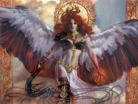 Imgur needs more Magic The Gathering, so here's some of the Angels of Magic If enough people like this I'll do another creature type. - Imgur
