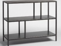 Gunmetal Holden Open 2 Shelf Bookcase | World Market
