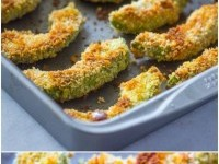 Crispy Baked Avocado Fries & Chipotle Dipping Sauce Recipe | Buzz Inspired