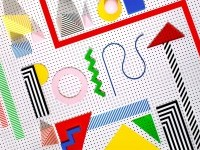 THE POINT | A BOLD FUSION OF BAUHAUS COLOURS AND OP ART AESTHETICS – Archive Collective Magazine