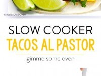 Slow Cooker Tacos Al Pastor Recipe | Buzz Inspired