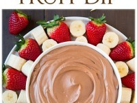 Chocolate Fruit Dip Recipe | Buzz Inspired