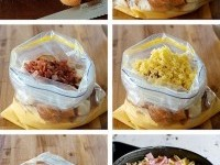Cheese and Bacon Bread Bake Cake (Strata) Recipe | Buzz Inspired
