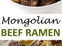 Mongolian Beef Ramen Recipe | Buzz Inspired