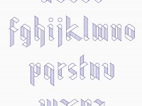 Ribbon Typeface on