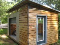 DIY Modern Shed project | diyatlantamodern