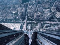 Terrifying Rooftop Photography From The Futurescapes of Shanghai