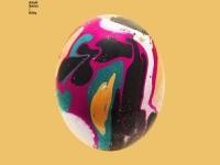 Album art, color, egg, design, in Illustration