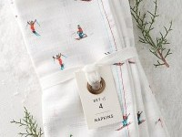 Ski Slopes Napkin Set ($32) | The Best Anthropologie Home Gifts Under $50 | POPSUGAR Home