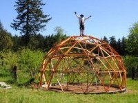 The EasyDome System: A DIY Biodome Geodesic Greenhouse Manual | Geodesic Greenhouse.org