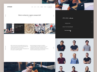 Neverbland Website - We are Hiring! by Filippo Chiumiento - Dribbble