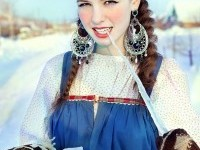 Beautiful Slavic Folklore With Julia Galimova